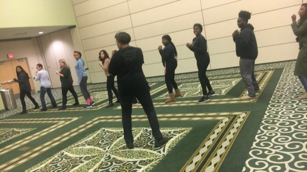 EMU student government promotes self defense