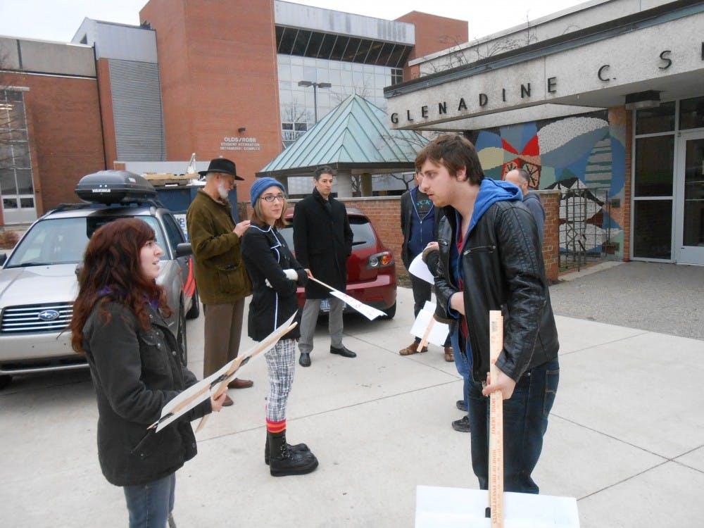 Filmmaker shoots several scenes on EMU's campus