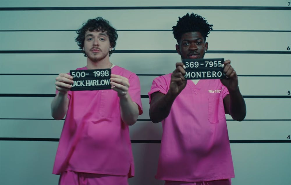 """Review: Lil Nas X has returned with another wild music video for his single """"INDUSTRY BABY"""" featuring Jack Harlow"""