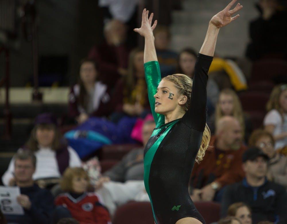 EMU gymnast's dominate Bowling Green