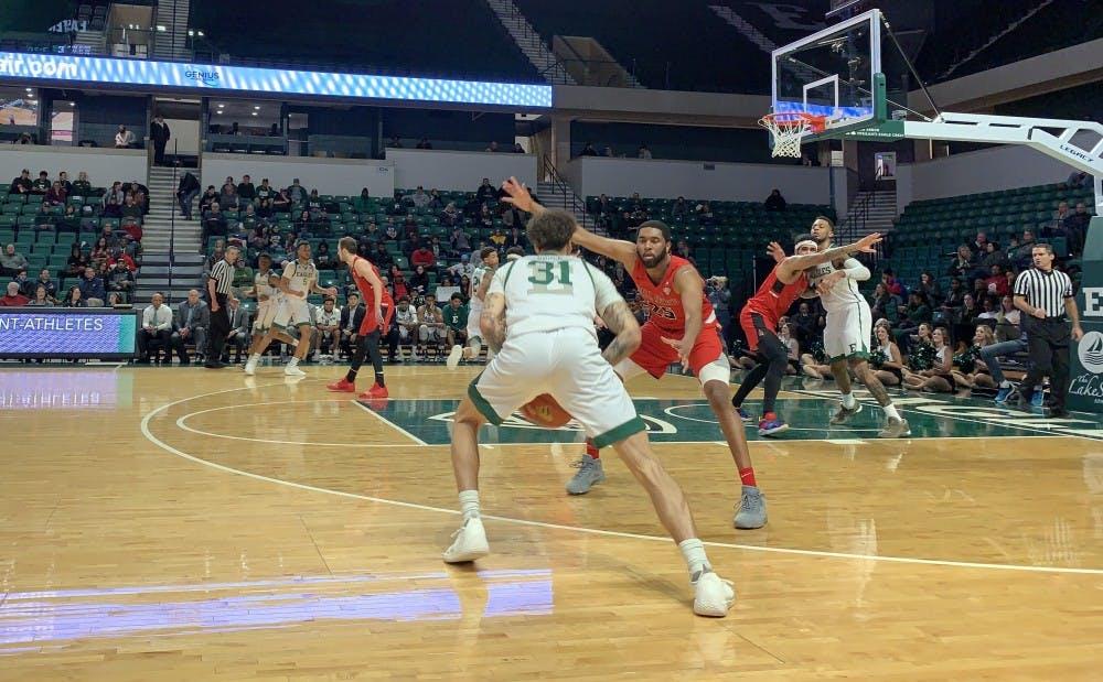 EMU Men's Basketball Beats Ball State on Senior Night