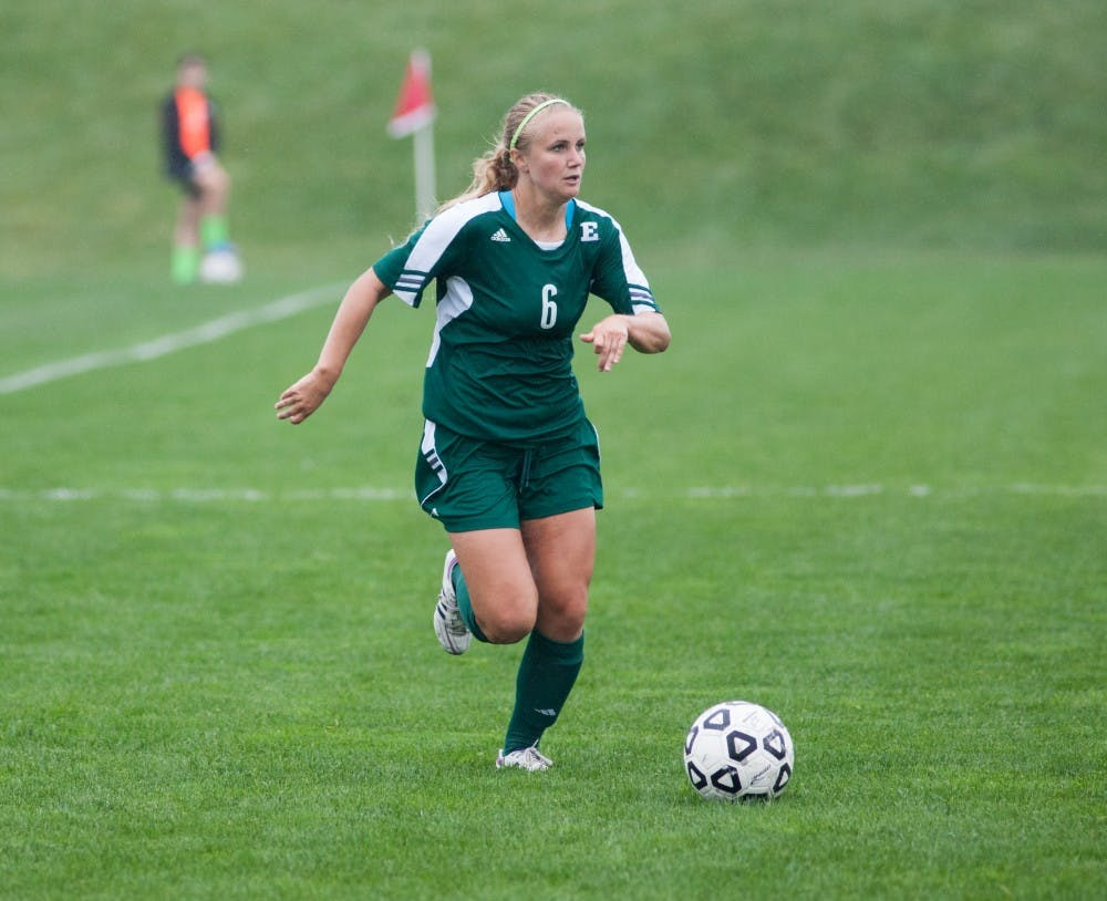 Women's soccer team earns regular season MAC title
