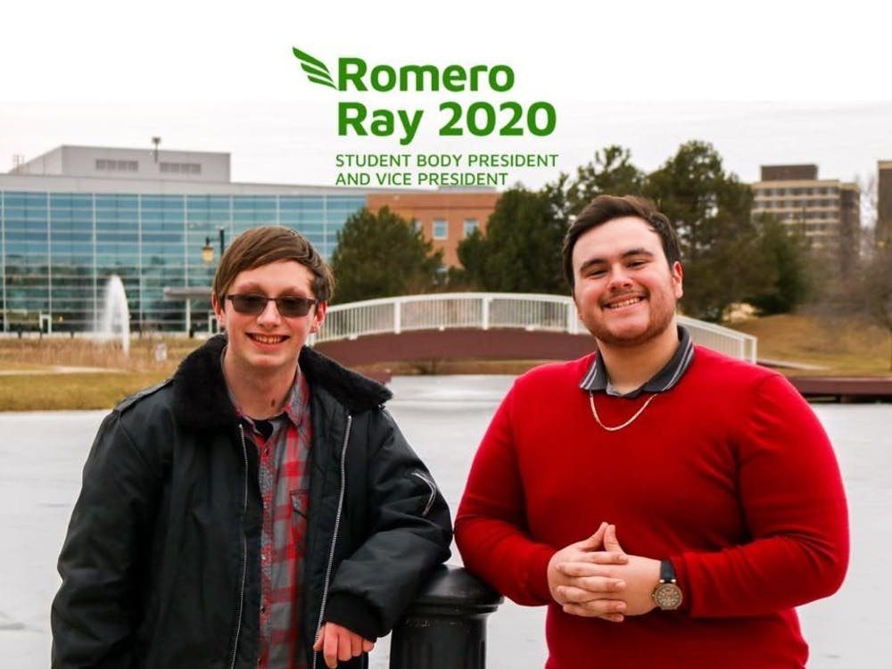 Cover image for the Romero-Ray campaign for Student Body President/Vice President. Courtesy of their Facebook page.