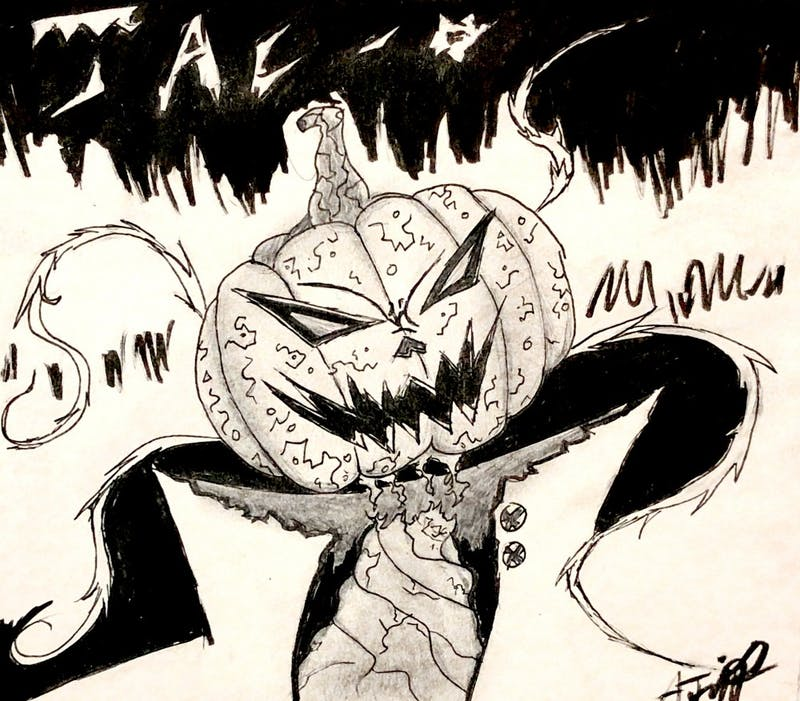 On the eve of Halloween, Jac - O appears! Spreading fear to anyone near...
