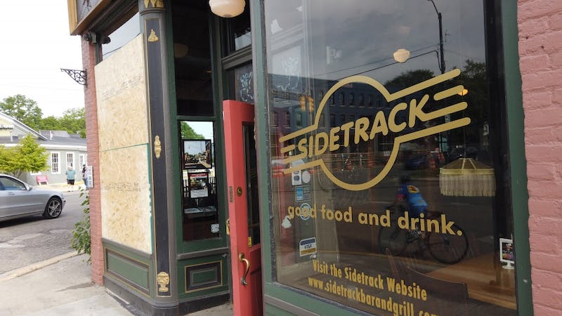 A front window was broke at Sidetrack Bar & Grill after a subject in a Subaru was seen shooting at the business. The incident happened shortly after 5 p.m. on June 11.