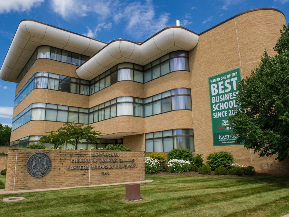 Eastern Michigan University College of Business. (Eastern Michigan University)