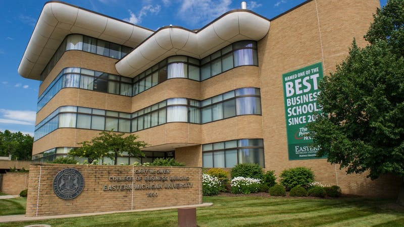 Eastern Michigan University College of Business. (Eastern Michigan University)
