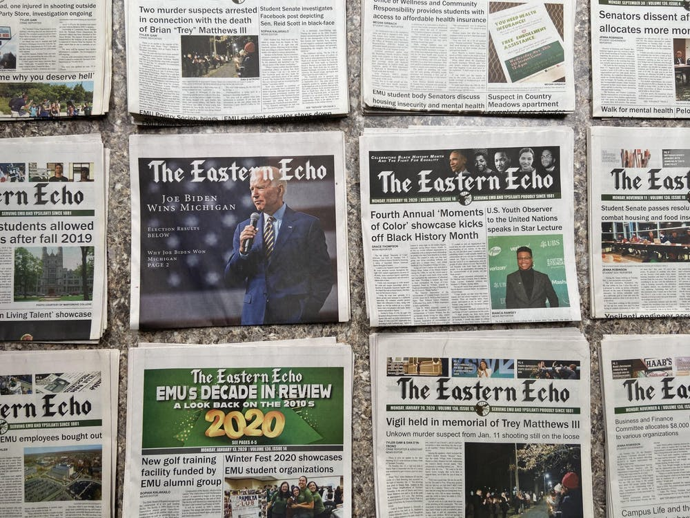 The Eastern Echo needs your help! Keep student journalism alive at EMU