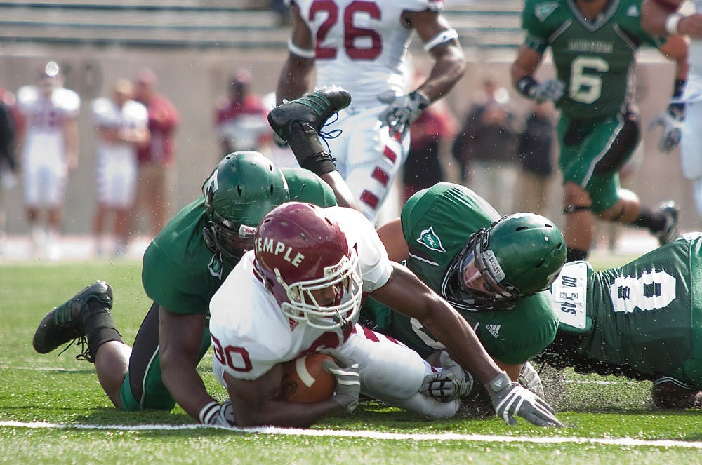 Eastern Michigan's homecoming spoiled by Temple