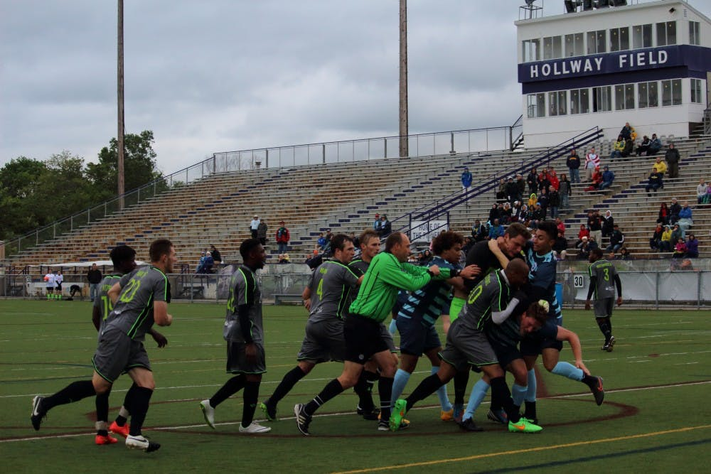 Scrappy finish ends in AFCAA 2-1 victory