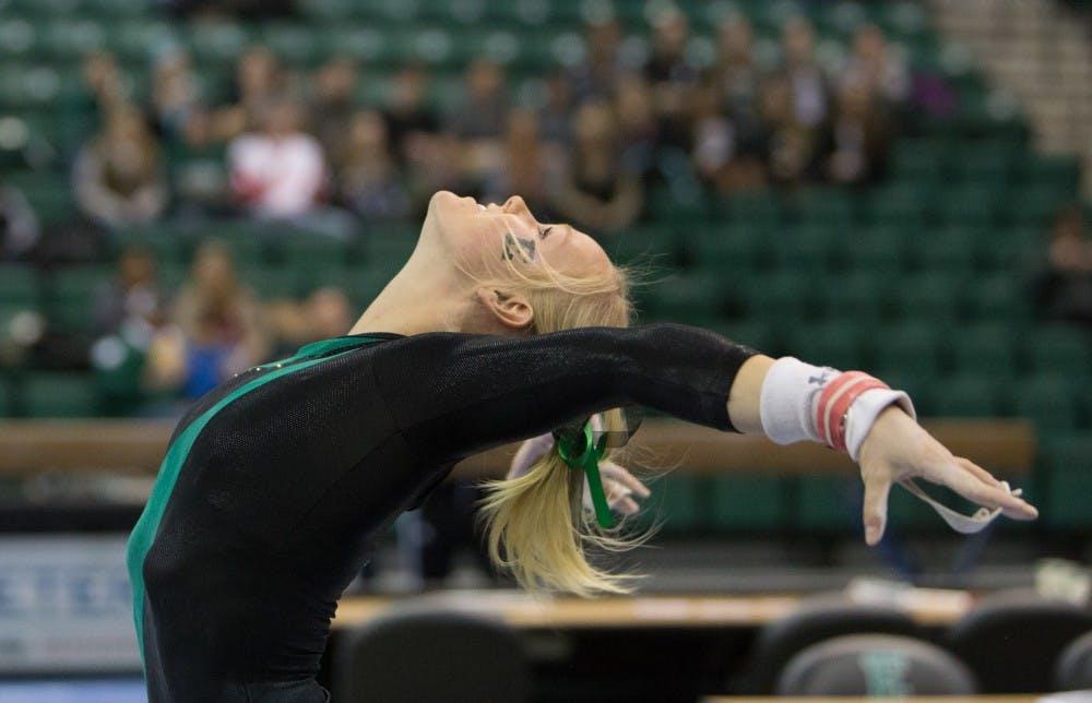 EMU Gymnastics Ranking: Feb. 9 2015