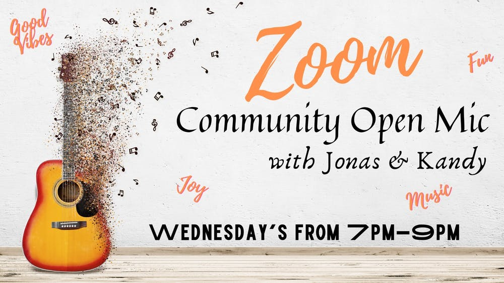 "Triple Goddess Tasting Room holds ""Zoom Community Open Mic"" every Wednesday"