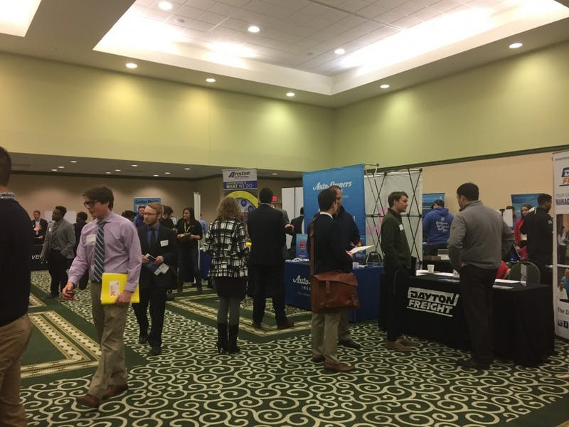 EMU's 2018 internship fair