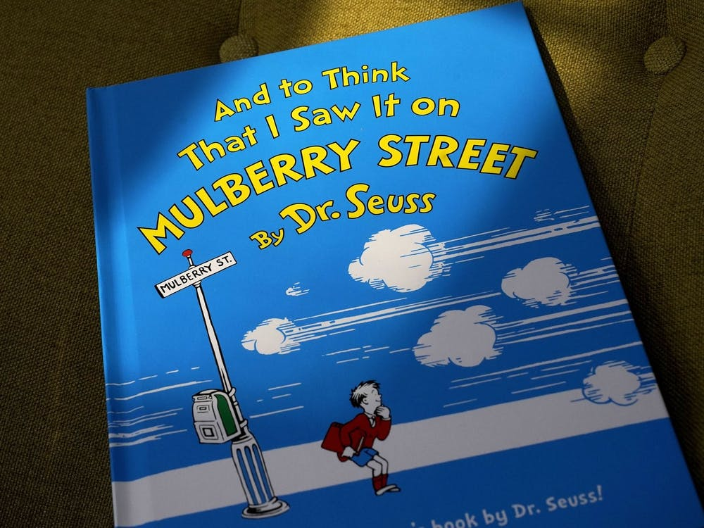 """And To Think I Saw It on Mulberry Street"" is one of six Dr. Seuss books that will no longer be printed due to racist imagery. (Photo courtesy of Steven Senne/AP)"