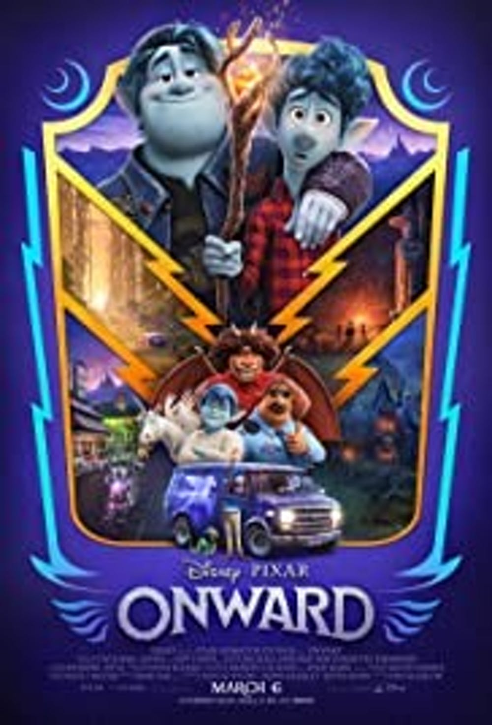 Review: Disney's 'Onward' arrives just in time to warm the hearts of millions when we need it most