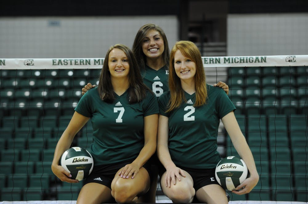 Women's volleyball set to finish season strong