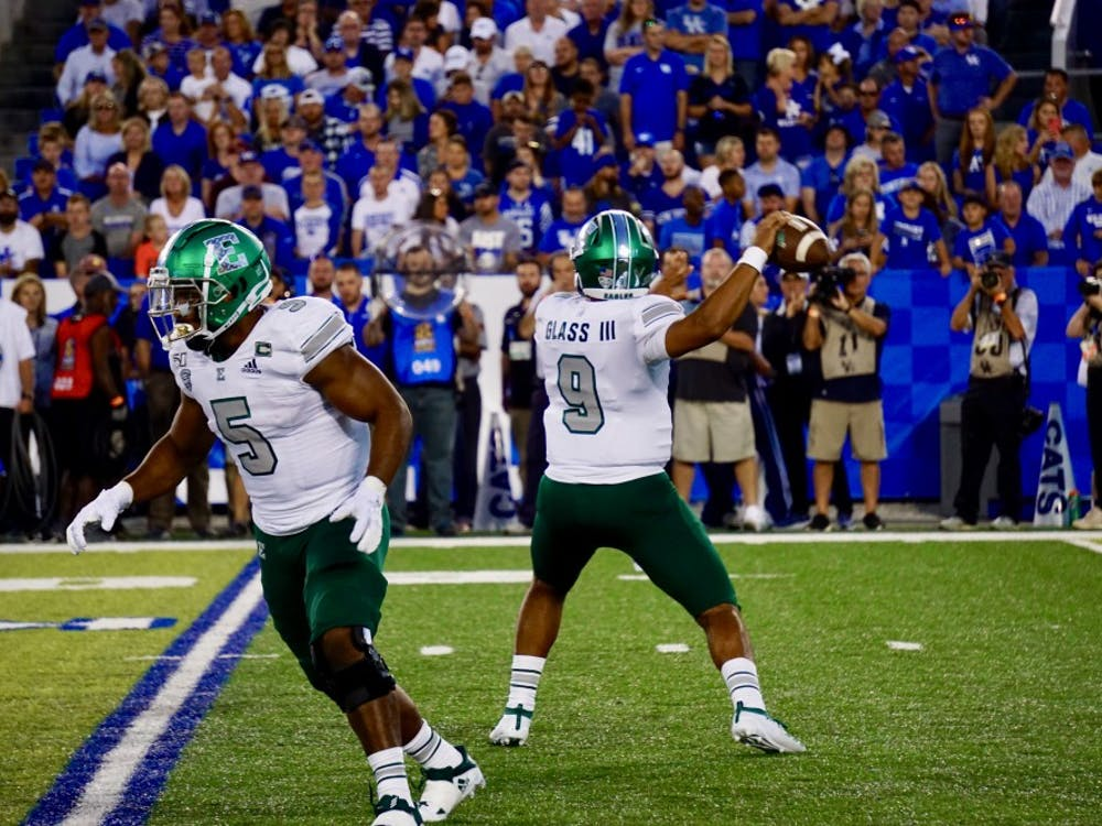 Kentucky defeated Eastern Michigan, 38-17, at Kroger Field in Lexington on Saturday, September 7.