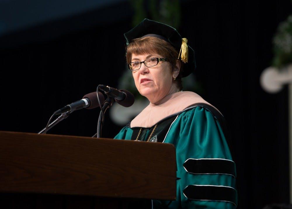 University president Susan Martin announces resignation