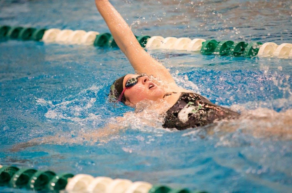 Swimming team attends FIU Invitational