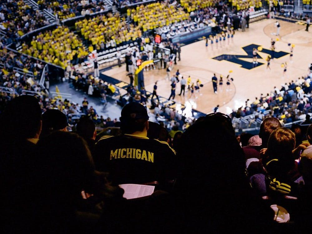 The Michigan Wolverines play Northwestern on Jan. 30, at Crisler -- the only home game they played while ranked #1 earlier this season. And now -- on to the Final Four. Bring it Blue. Canon A-1 w/ FD 50mm f/1.8, <b>Kodak Portra 400</b>