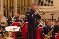 The USAF Band of Mid-America's Shades of Blue Jazz Ensemble honors veterans
