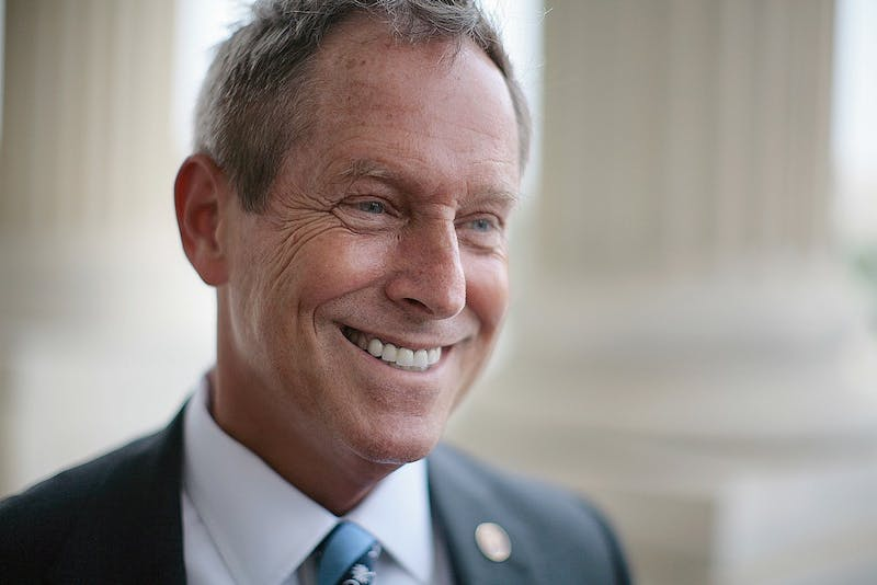Rep. Joe Wilson (R-SC) photographed on Capitol Hill in Washington D.C., May 16, 2007. (Chuck Kennedy/MCT)