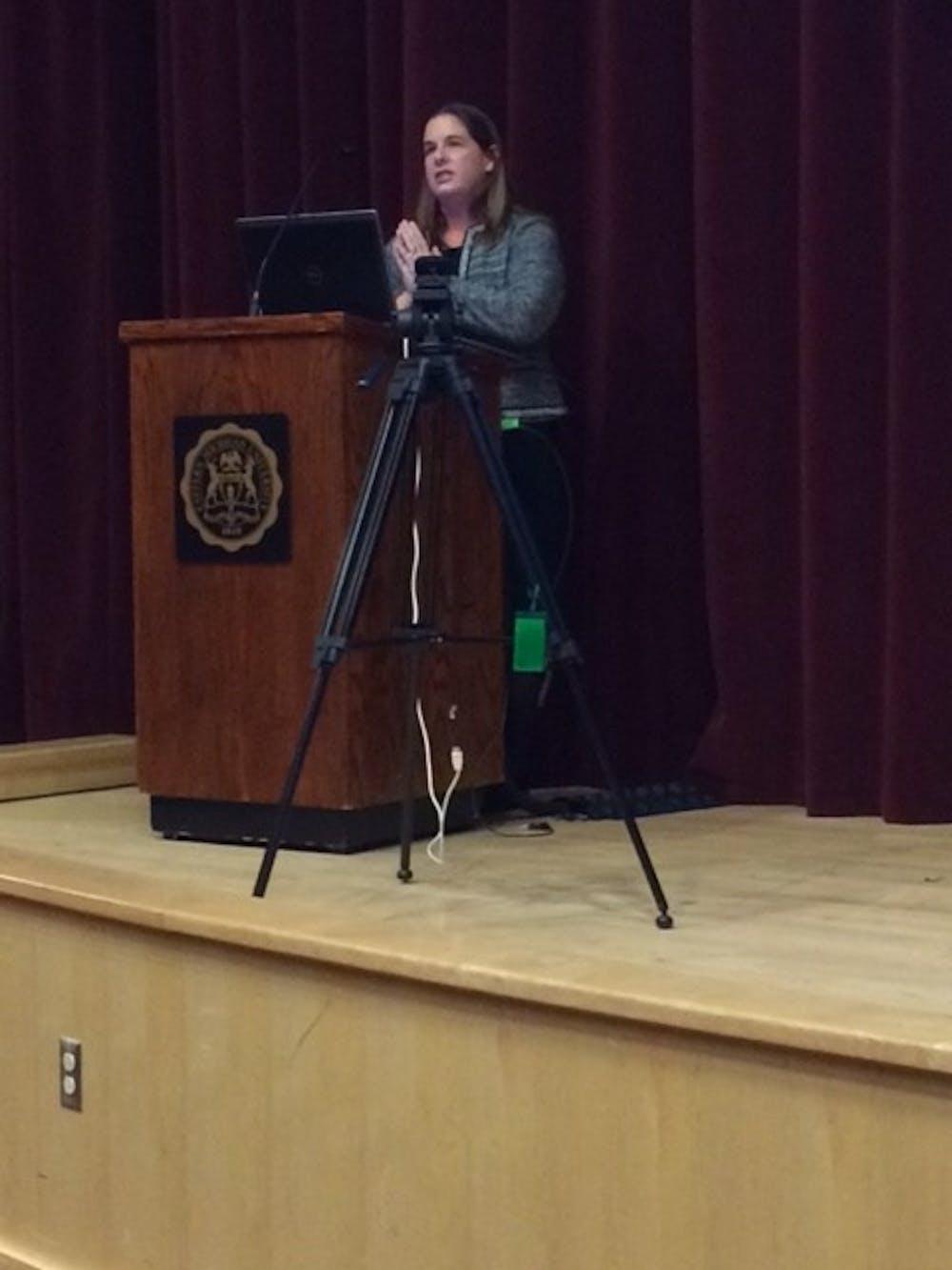 Dana Dolinoy talks DNA and destiny