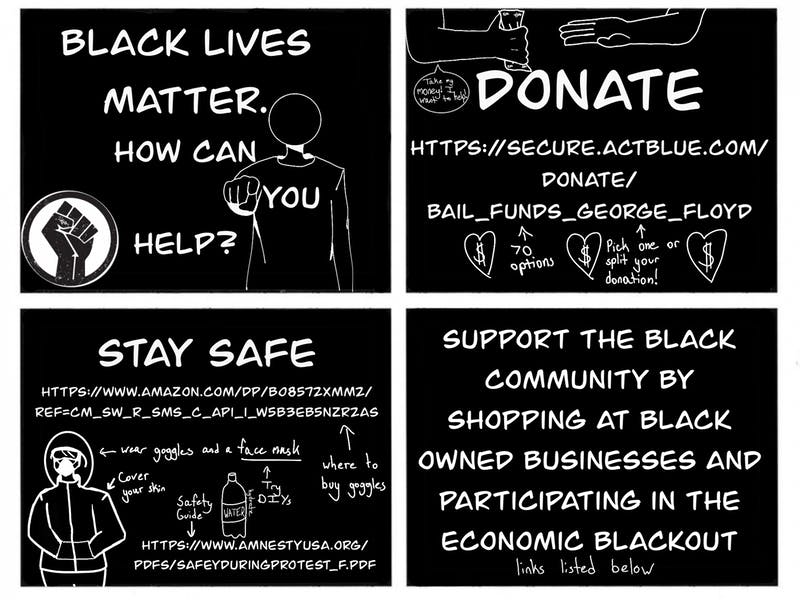 If you want to help the Black Lives Matter movement, donate to Secure Act Blue to support their endeavors right now. If you wish to take part in their protests as well, go to Amazon and check out this Safety Guide to stay safe and healthy.