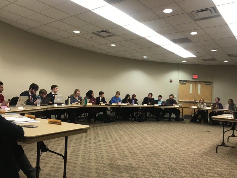 Senators passed two resolutions, 106-11 and 106-15. Senators approved a delegate from the Black Student Union to the senate. Two resolutions were tabled.