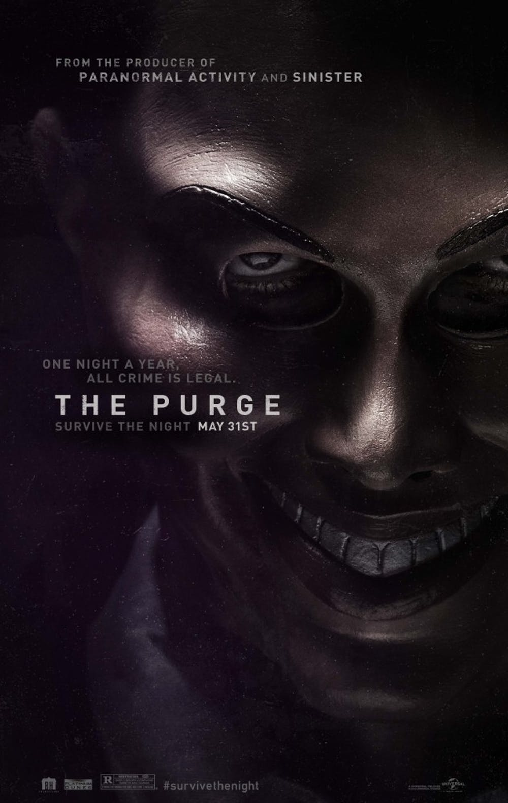 The Purge has a great premise, but misses the mark