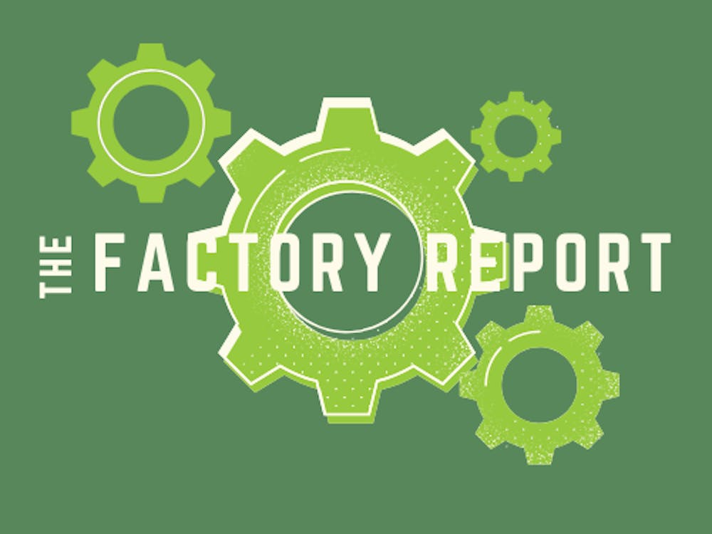 Factory Report Fall 2020 Logo