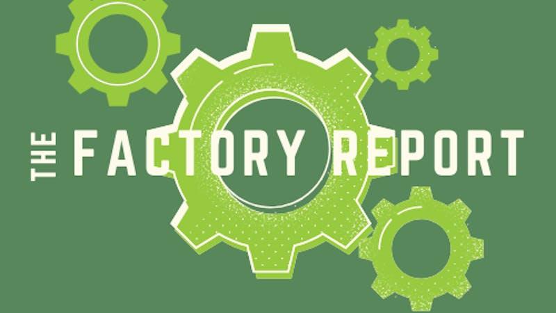 Factory Report Fall 2020 Logo