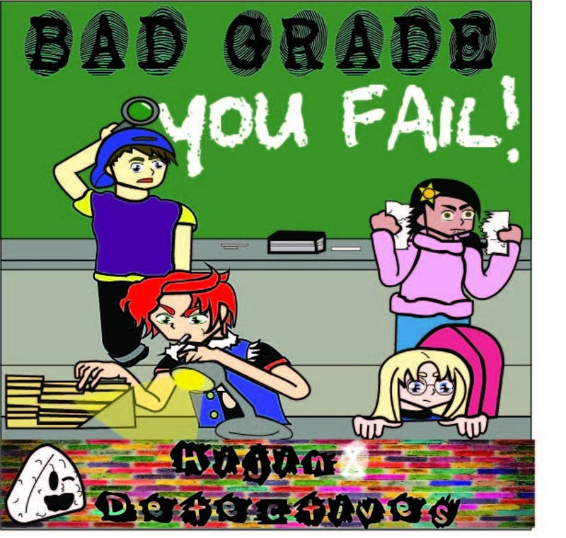 The super sleuths must investigate the biggest mistake on their records: a bad grade!