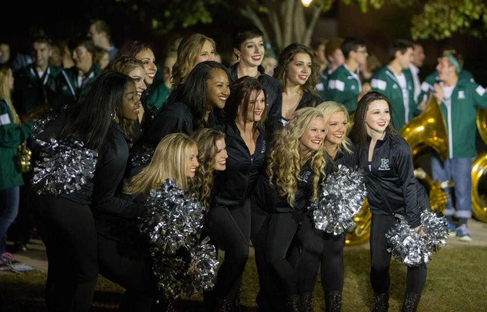 EMU spirit soars high at homecoming pep rally