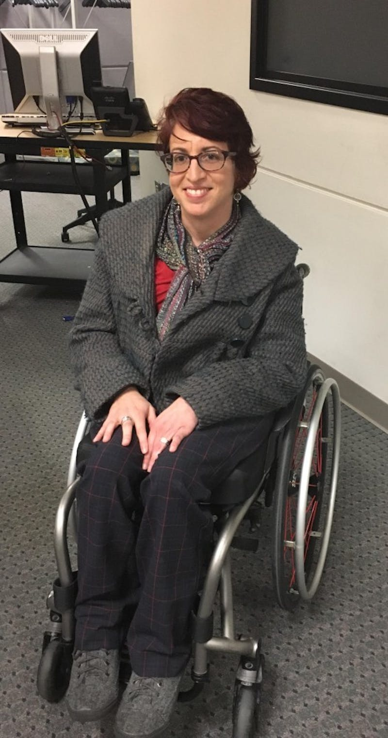 Liat Ben-Moshe, Ph.D., assistant professor of disability studies at The University Of Toledo.