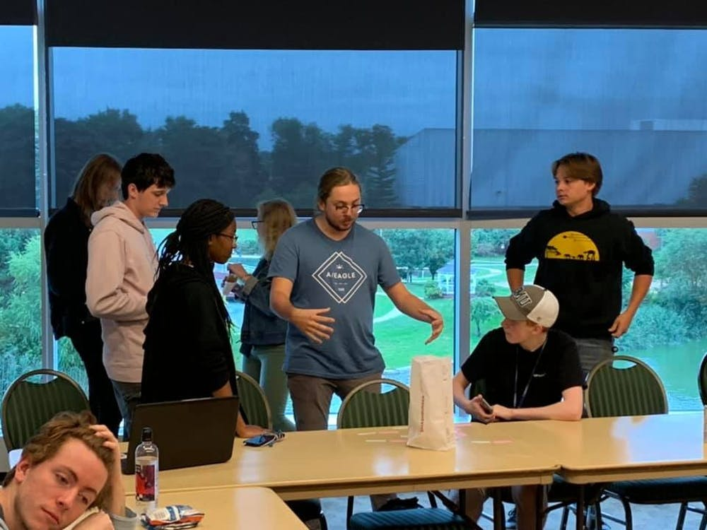 """Eagle Filmmakers Association gives students """"hands-on experience"""" in film production"""