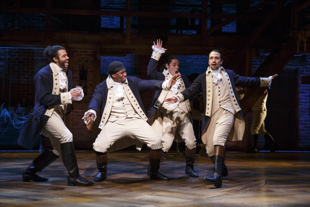 "Broadway's ""Hamilton"" is setting records, breaking down barriers in theater"