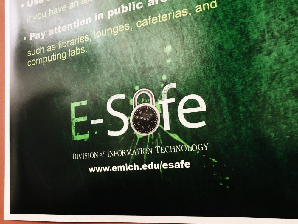 EMU's I.T. department reminds students all across campus to be safe with their personal information when online.