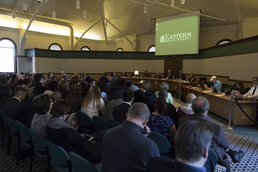 EMU Board of Regents votes to withdraw from the EAA