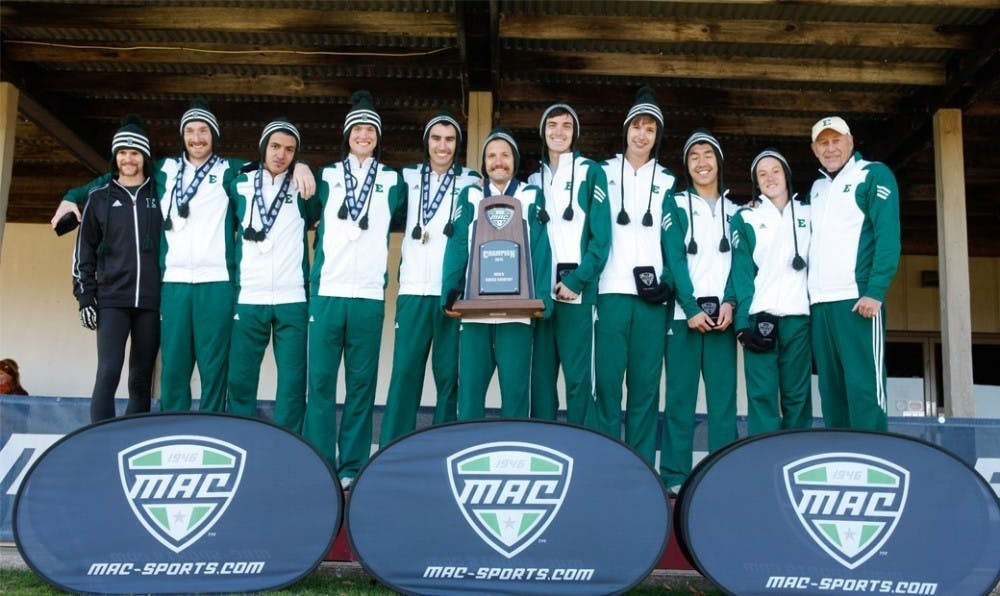 Men's cross country wins fifth consecutive MAC championship