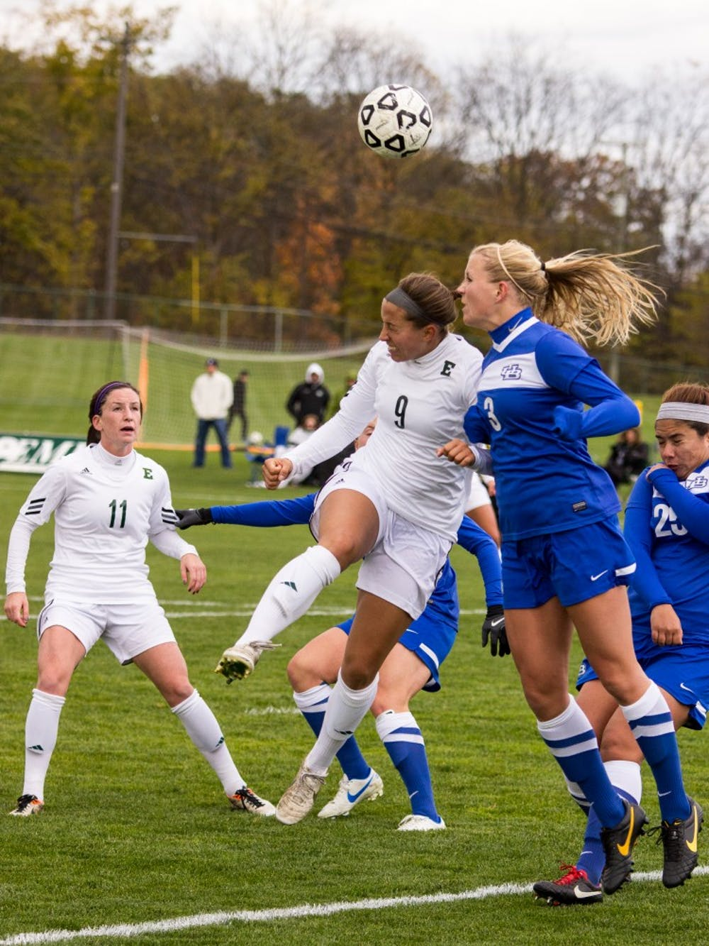 EMU soccer team ties University at Buffalo Friday, 1-1