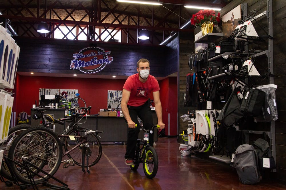 Local bicycle shops experience a sudden boom of sales during pandemic