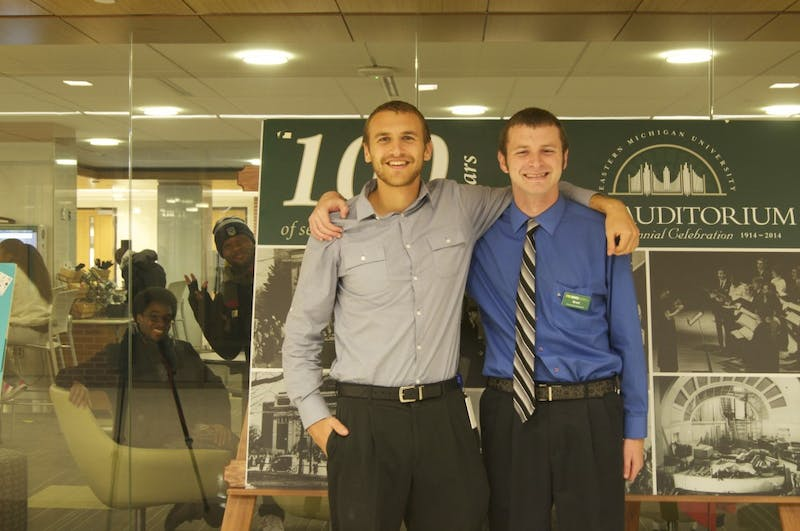 EMUstudents, Brock and Brett Foster,Photo by Allie Tomason