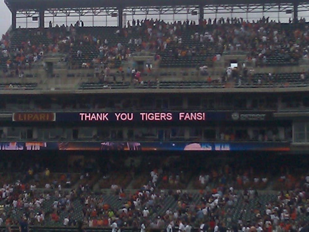 The Tigers will start the season April 1 against the Minnesota Twins and play at home April 5.
