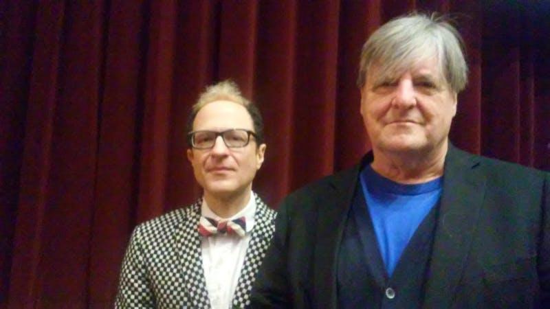 Left to right: Wayne Koestenbaum and Kevin Killian.