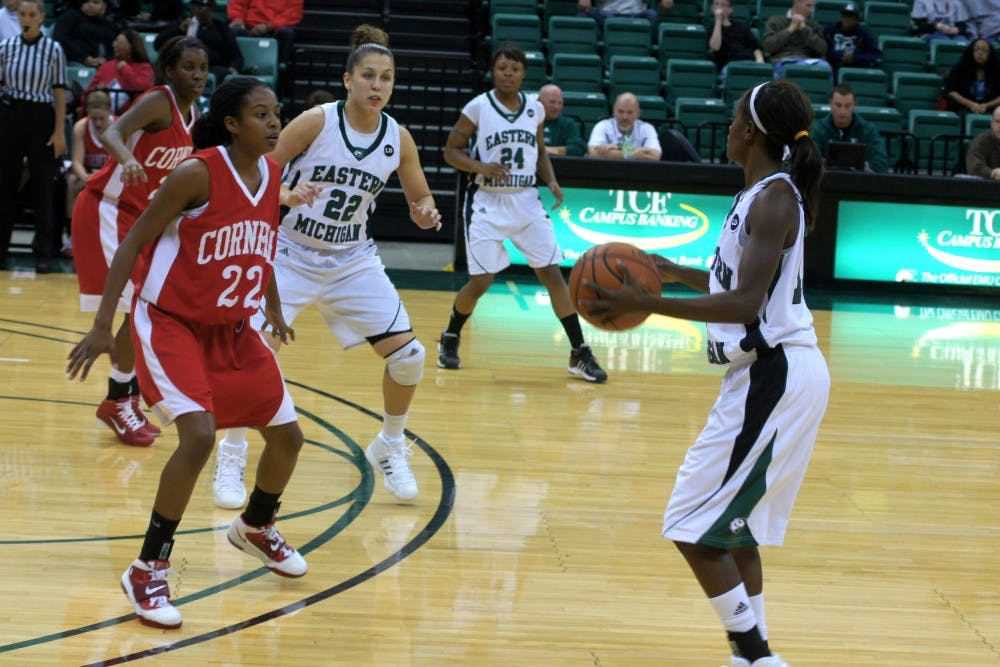 Women's basketball defeats Cornell, 66-41