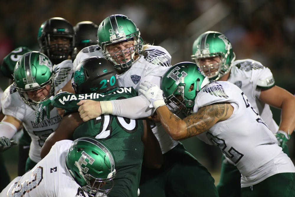 EMU picks up second win of the season in Charlotte