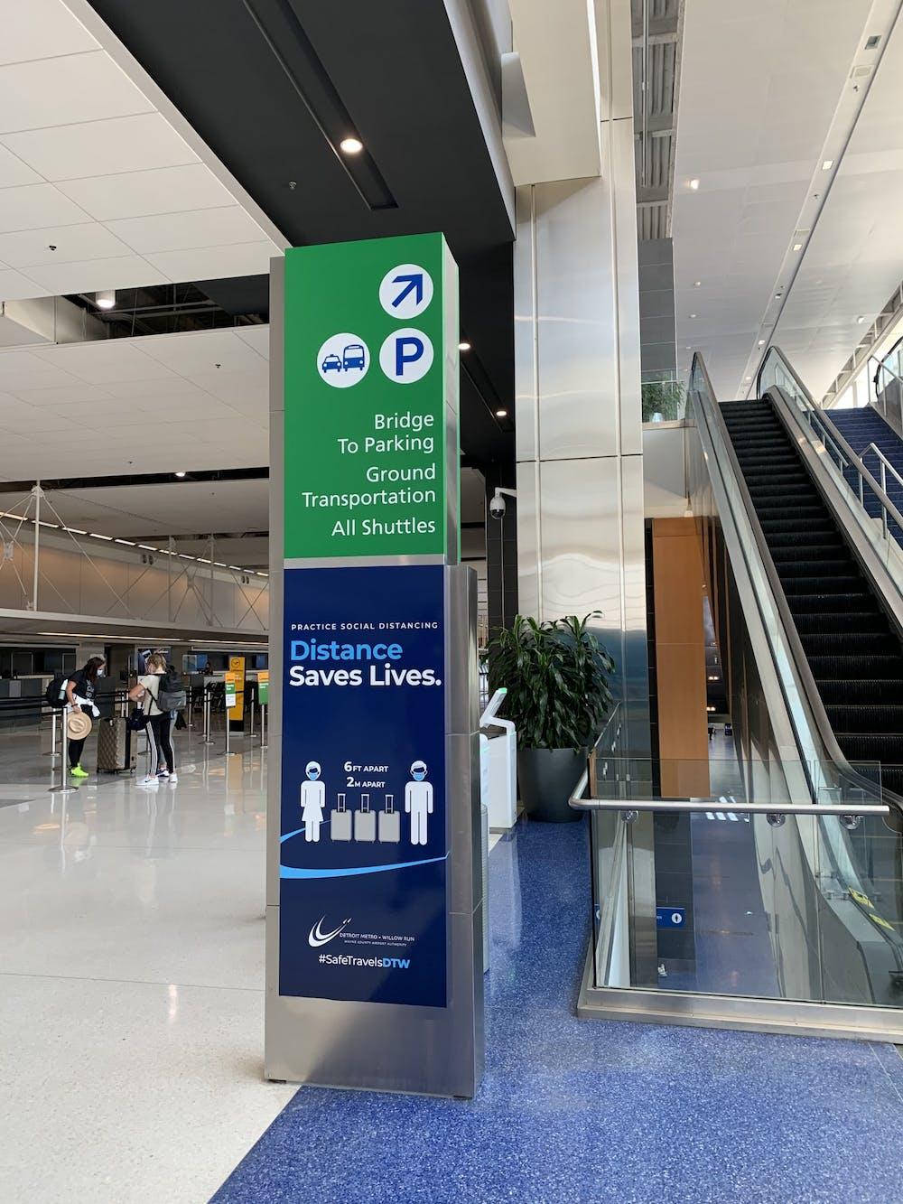Detroit Metropolitan Wayne County Airport receives AirportService Quality Award