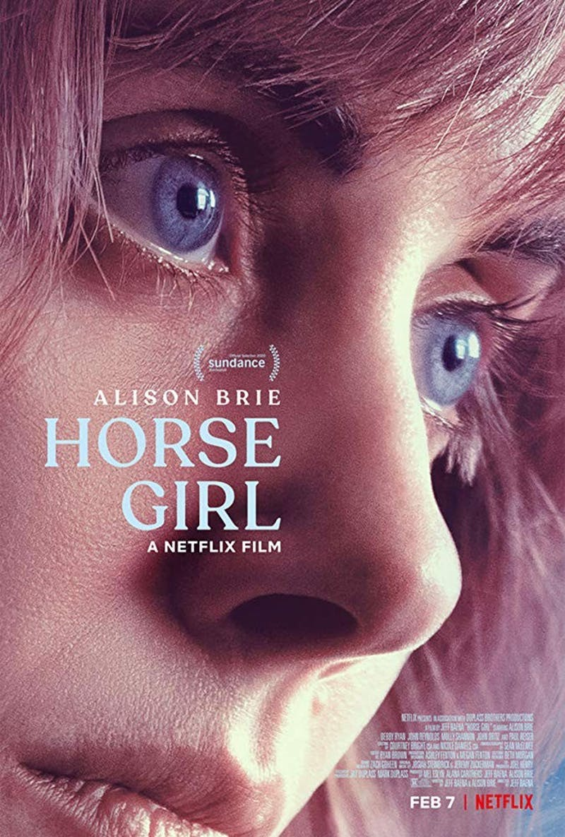 """Horse Girl"" promotional poster. Retrieved from IMDb."