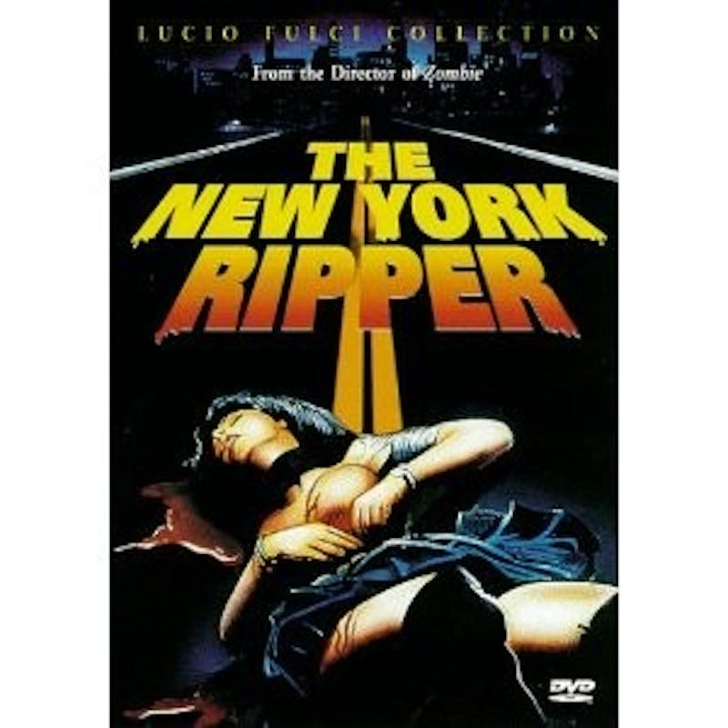 'The New York Ripper,' directed by Lucio Fulci, is poorly dubbed and not convincing.